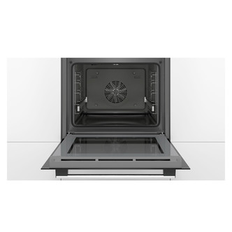 Image of Bosch HBG5585S6B Serie 6 Single Catalytic Oven in Br Steel 3D Hotair