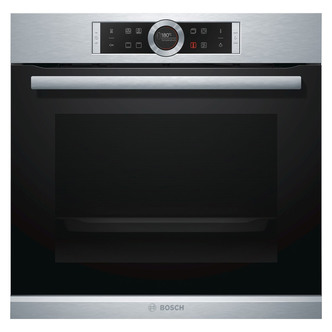 Image of Bosch HBG634BS1B Single Multifunction Oven in Brushed Steel