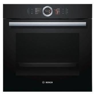 Image of Bosch HBG674BB1B Single Pyrolytic Multifunction Oven in Black