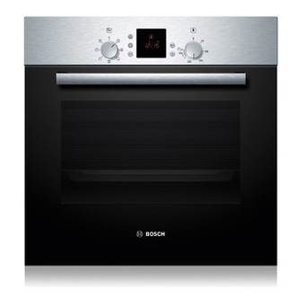 Image of Bosch HBN531E1B Built In Electric Single Oven in Br Steel 66L