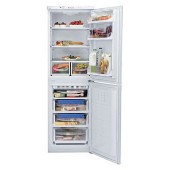Hotpoint HBNF5517W Frost Free Fridge Freezer in White 1 75m 55cmW A