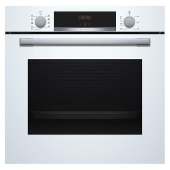 Image of Bosch HBS534BW0B Serie 4 Built In Single 3D Hot Air Oven in White