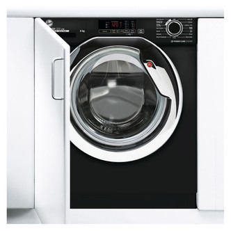 Hoover HBWS48D1ACBE Fully Integrated Washing Machine 1400rpm 8kg C Rat