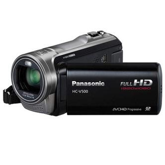 Panasonic Hc V500eb K Camcorder Full Hd 1080p 38x Optical 3 Lcd Black