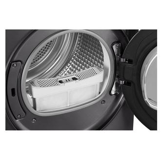Haier HD90A2979S 9kg Heat Pump Condenser Tumble Dryer in Silver A