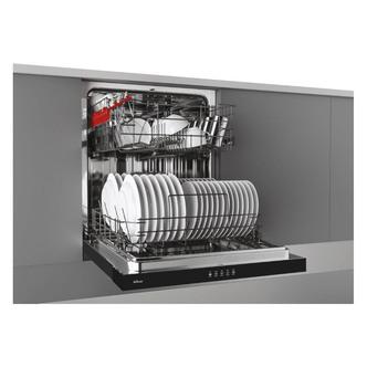 Hoover HDSN1L380PB 60cm Semi Integrated Dishwasher 13 Place Setting F