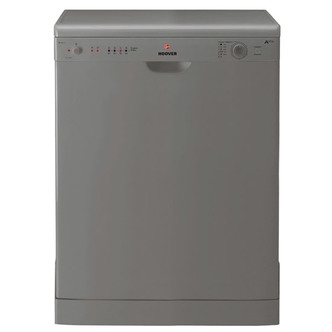 Hoover HED120S 60cm Dishwasher in Silver 12 Place Settings A AA Rated