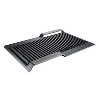 Image of Bosch HEZ390522 40cm FlexInduction Griddle Plate in Cast Iron