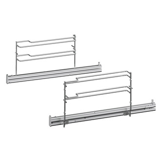 Image of Bosch HEZ638178 Single Shelf Rails for Serie 8 Pyrolytic 45cm Ovens