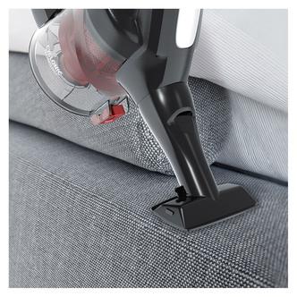 Hoover HF222RH Cordless Stick Vacuum Cleaner Titanium Black Red