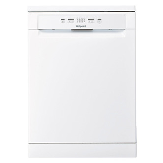Hotpoint HFC2B19UK 60cm Aquarius Dishwasher in White 13 Place Set F Ra
