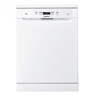 Image of Hotpoint HFC3C26W 60cm Ecotech Dishwasher in White 14 Place Set A