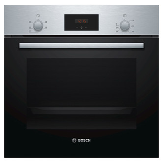 Image of Bosch HHF113BR0B Built In Electric Single Oven in St Steel 66L