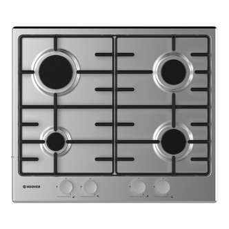 Hoover HHW6BRMX 60cm Gas Hob in Stainless Steel FSD