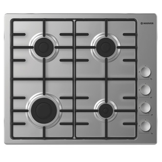 Hoover HHW6LCX 60cm Gas Hob in Stainless Steel FSD