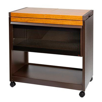 Hostess HL6200GO Connoisseur Hostess Trolley in Golden Oak