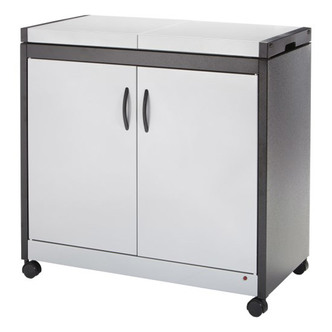 Hostess HL6232SV Connoisseur Hostess Trolley in Silver