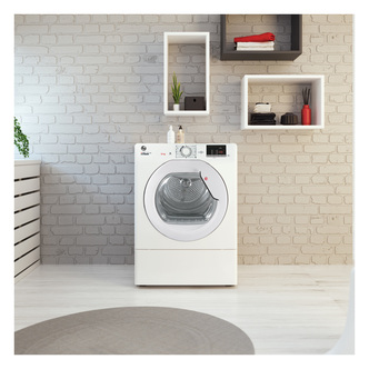 Hoover HLEV10DG 10Kg Vented Tumble Dryer in White Sensor NFC C Rated