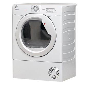 Hoover HLEV8LG 8Kg Vented Tumble Dryer in White Sensor NFC C Rated