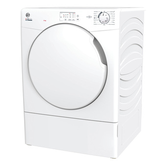 Hoover HLEV9LF 9Kg Vented Tumble Dryer in White Sensor NFC C Rated