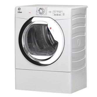 Hoover HLEV9TG 9Kg Vented Tumble Dryer in White Sensor C Energy
