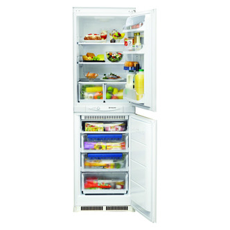 Hotpoint HM325FF 2 Integrated Frost Free Fridge Freezer 1 77m 50 50 A