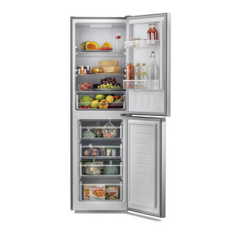 Image of Hoover HMCL5172XIN 55cm Low Frost Fridge Freezer in Silver 1 76m A Rat