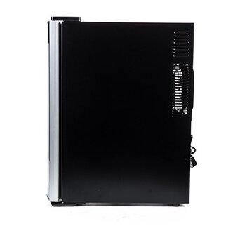 Husky HN6 Reflections Slimline Drinks Cooler in Black 12x 75cl