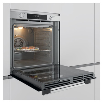 Image of Hoover HOXC3B3158IN Built In Electric Single Oven in St Steel 80L