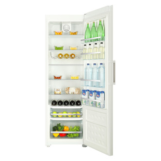 Haier HR 385WSAA 60cm 1 86m Tall Larder Fridge in White A