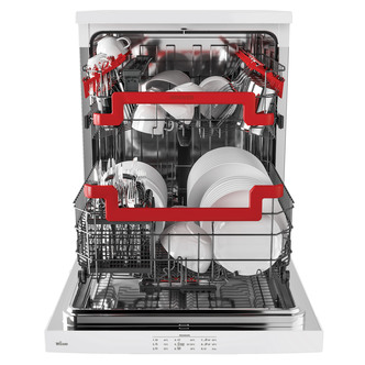 Hoover A++ 15 Place 9 Programmes WIFI & Bluetooth Freestanding Dishwasher (White)