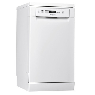Image of Hotpoint HSFCIH4798FS 45cm Dishwasher in White 10 Place A Energy