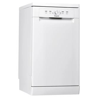 Hotpoint HSFE1B19 45cm Slimline Dishwasher in White 10 Place Settings