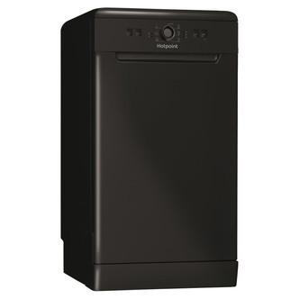 Hotpoint HSFE1B19B 45cm Slimline Dishwasher in Black 10 Place Settings