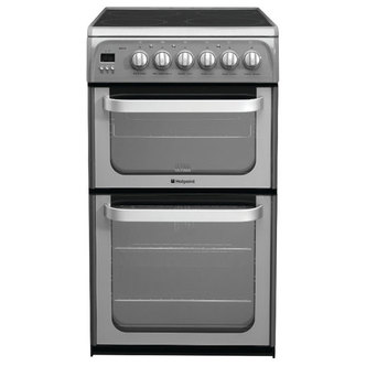 Hotpoint HUE52GS 50cm ULTIMA Electric Cooker in Graphite