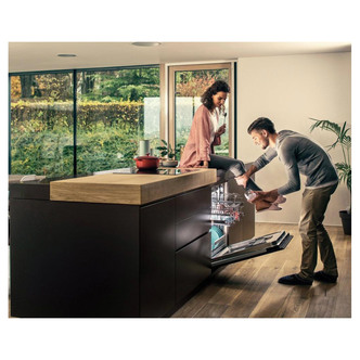 Image of Hisense HV671C60UK 60cm Integrated Dishwasher in White 16 Place A