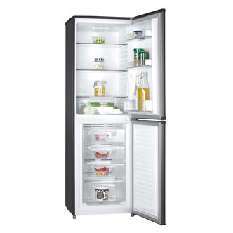 Hoover HVBF5172BHK Frost Free Fridge Freezer in Black 1 77m W55cm A