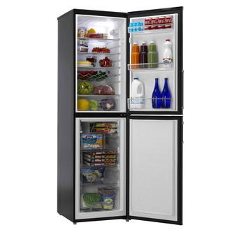 Hoover HVBF5192BHK 55cm Frost Free Fridge Freezer 1 97m in Black A Rat