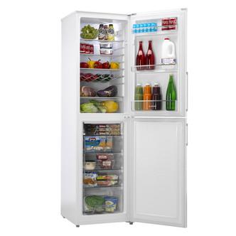 Hoover HVBF5192WHK 55cm Frost Free Fridge Freezer 1 92m in White A Rat