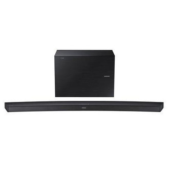 Samsung HW J7500RXU 4 1Ch Curved Wireless Soundbar Subwoofer in Black