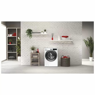 Hoover HW49AMBS Washing Machine in White 1400rpm 9Kg A Rated Wi Fi