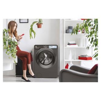 Hoover HWB412AMBCR Washing Machine in Anthracite 1400rpm 12Kg Wi Fi BT