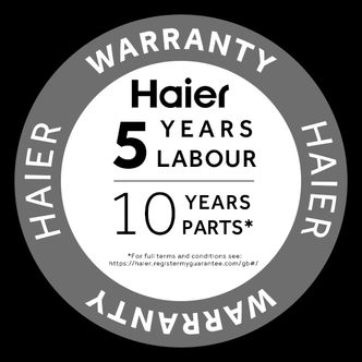 Haier HW100B14979S Washing Machine in Silver 1400rpm 10kg A Rated