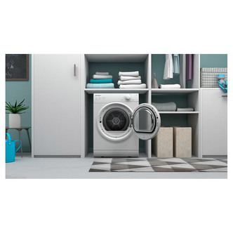 Indesit I1D80WUK 8kg Vented Tumble Dryer in White C Rated