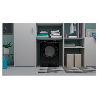 Indesit I2D81BUK 8kg Condenser Tumble Dryer in Black B Rated