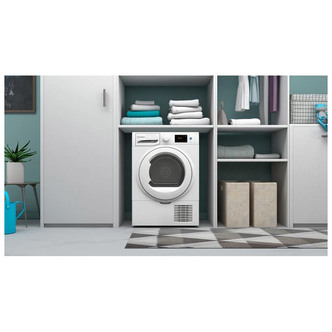 Indesit I3D81WUK 8kg Condenser Tumble Dryer in White B Rated