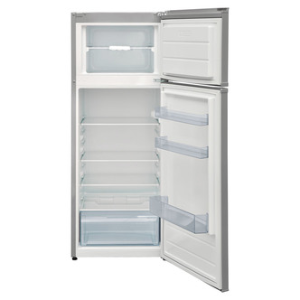 Image of Indesit I55TM4110X 55cm Top Mount Fridge Freezer in Silver 1 44m A Rat