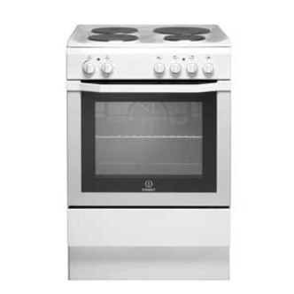 Indesit I6EVAW 60cm Single Cavity Electric Cooker in White
