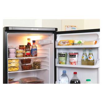 Indesit IBD5515B Fridge Freezer in Black 1 57m W55cm F Rated