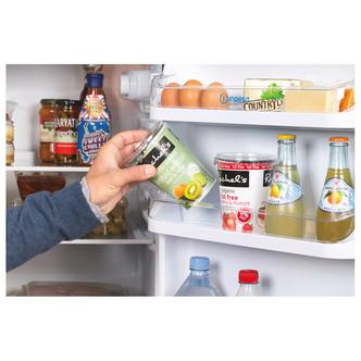 Indesit IBD5517B Fridge Freezer in Black 1 74m W55cm F Rated